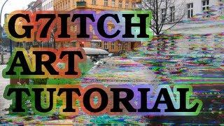DIY Glitch Art Tutorial for Audacity and Gimp [Beginner Level]