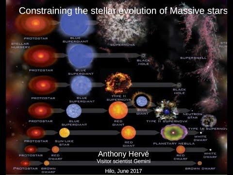 Constraining the stellar evolution of massive stars - Anthony Hervé