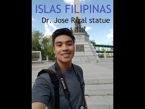 Islas Filipinas Madrid Spain Dr. Jose Rizal Monument
