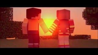 Клипы Minecraft любовь в майнкрафте Не разлей вода