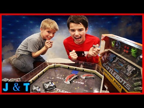 Battlebots Showdown! Minotaur Vs. Bronco Il / Jake and Ty