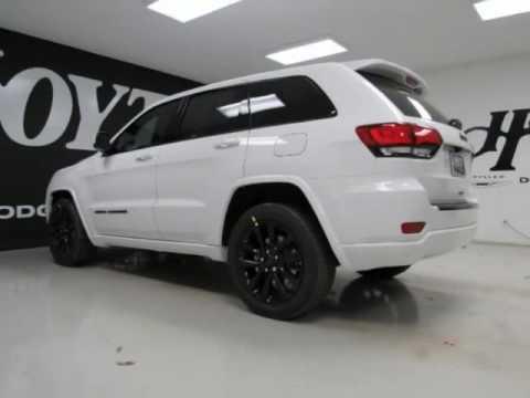 2017 Jeep Grand Cherokee Alude New White Suv Richardson Tx