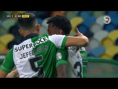 Goal | Golo Wendel: Sporting (1)-0 Estoril (Allianz Cup #2)