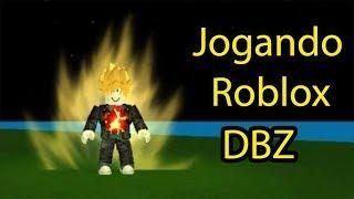 JOGANDO ROBLOX DBZ / PLAYING ROBLOX DBZ