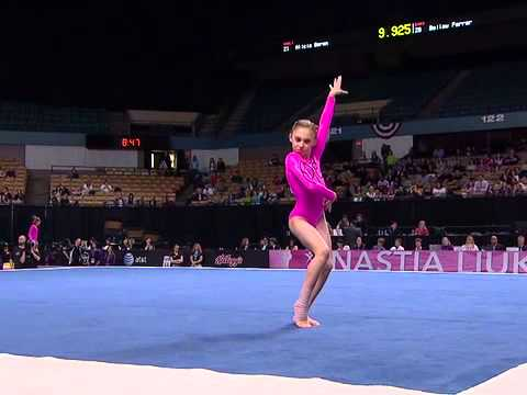 Happy Mother's Day - Brandy and Sydney Johnson Floor Routines