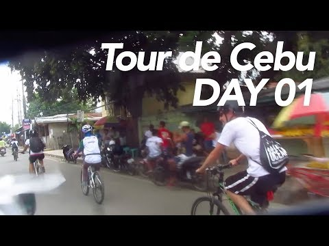 Biking the Entire Island of Cebu DAY 01 (Cebu City to Carcar)