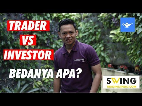 BEDA TRADER & INVESTOR - BELAJAR TRADING SAHAM - YouTube