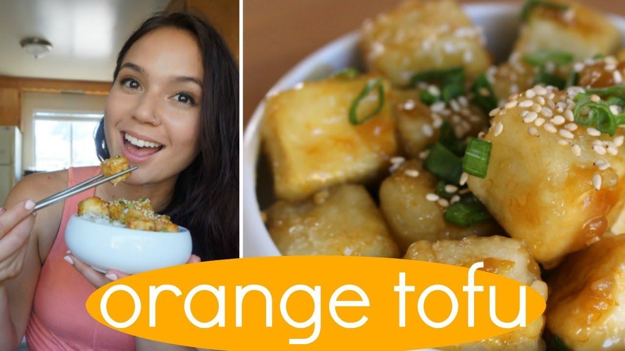 Sarah S Vegan Kitchen Orange Tofu