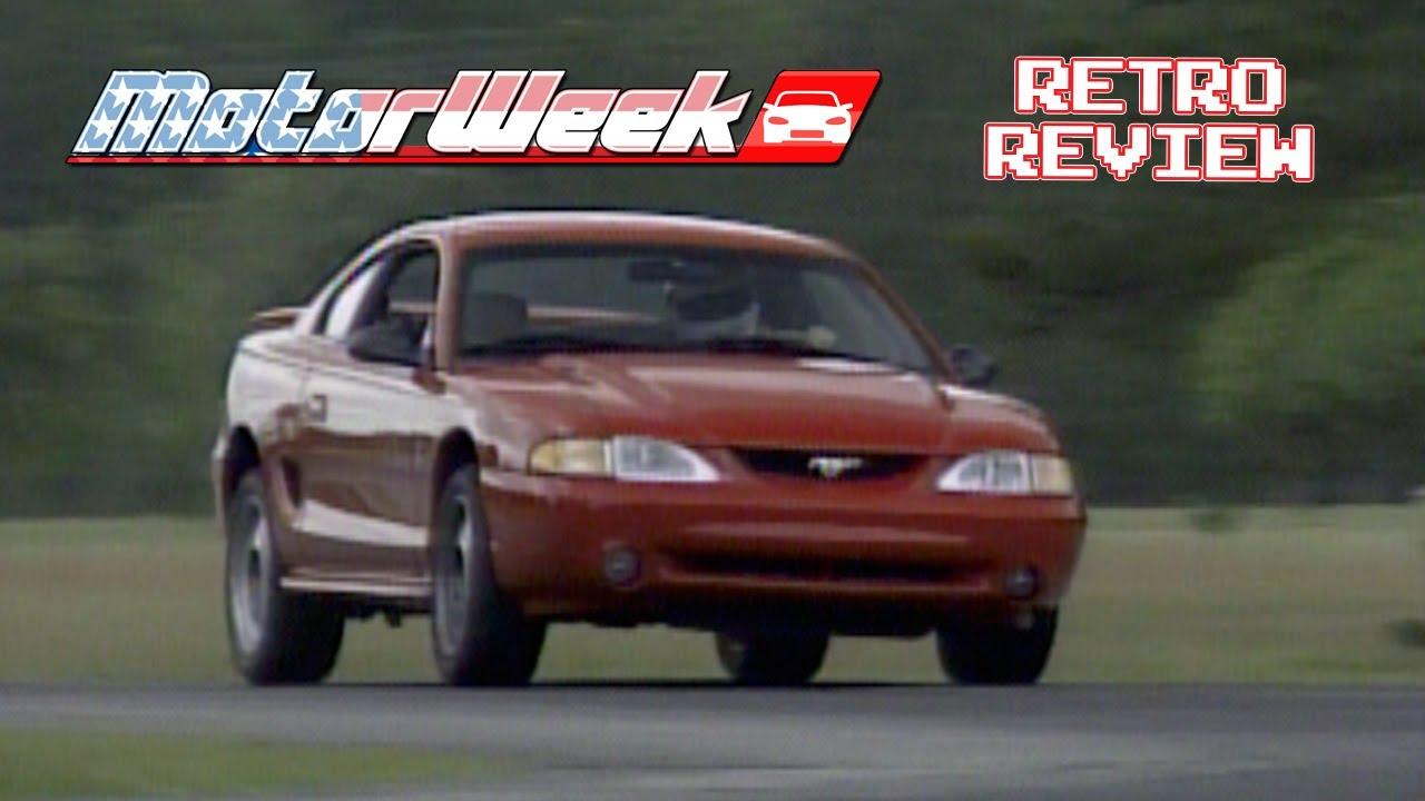 Retro review 1994 ford mustang cobra