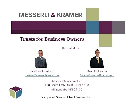 Trusts for Business Owners