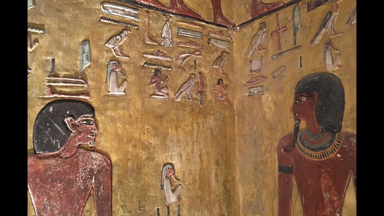 King Seti I's Tomb in Valley of Kings, Egypt - YouTube