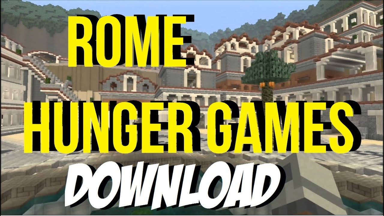 Minecraft PS PS Rome Hunger Games Download YouTube - Rome map download
