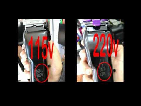 Especial para Usar maquinas de peluqueros Transformador de Corriente y hercios Cambia de 220V y 50 HZ a 110V y 60HZ para Usar en Espa/ña Equipos Americanos de 110 voltios hasta 120W