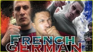 FRENCH vs GERMAN RAP [ First Reaction ]