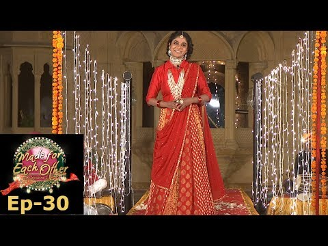 Made for Each Other I S2 EP-30 I  Colourful 'Rajasthani Wedding' is here...I Mazhavil Manorama