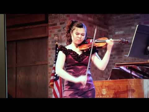 Piazzolla Oblivion by Violinist Xia Xia Zhang/ The Winner of Global Music Award