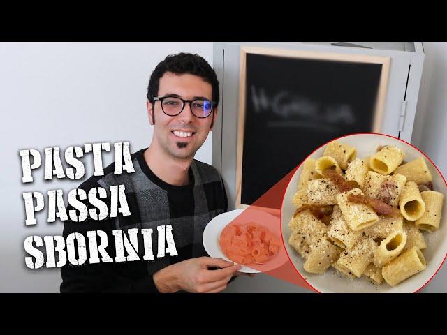 Pasta alla Gricia - PASTA PASSA SBORNIA - Come far passare la sbronza EP. 01