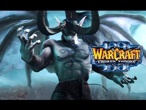 Фильм WarCraft 3: Frozen Throne, Часть 1: Ужас из Глубин (история Иллидана) [60fps, 1080p]