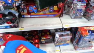 Man Of Steel Walmart Toy Haul Vlog #8- Finding The Cape & S Chest Plate