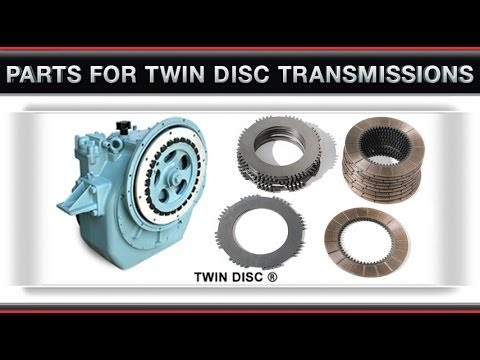 Overhaul plate kit for Twin Disc marine gear MG502