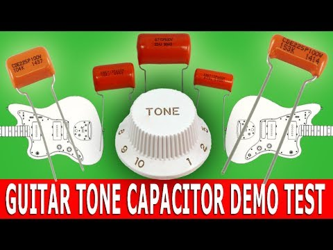 GUITAR Tone CAPACITOR Demo Test
