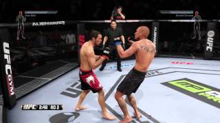 EA SPORTS™ UFC® смотреть с 3-ей минуты.