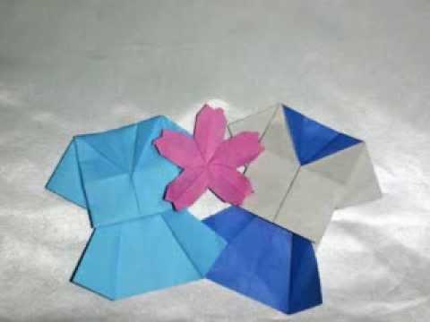 折り紙の : 折り紙 やっこ : youtube.com