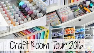 Craft Room Tour 2016   The Card Grotto