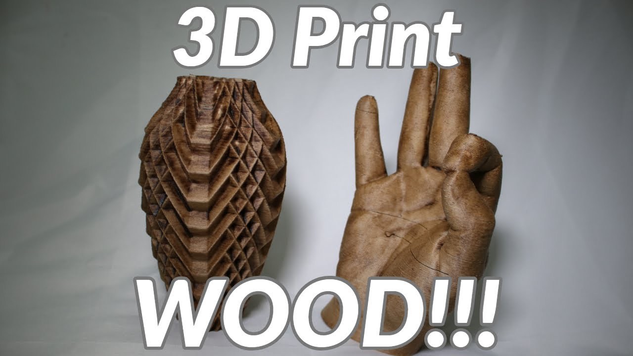 Print Wood on your 3D Printer - Tronxy Wood Filament Review