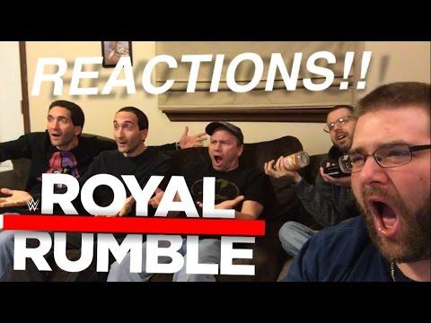 GRIMS WWE ROYAL RUMBLE 2017 REACTIONS!