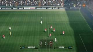 vuclip PES 2010 - Real Madrid vs Man Utd Highlights