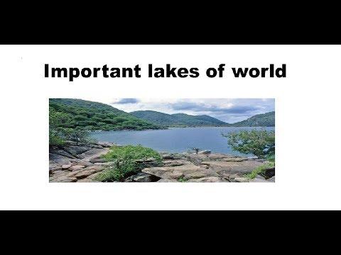 IMPORTANT LAKES OF WORLD || EXAM STUDIES || UPPSC RO&ARO  SSC BANKING  RAILWAYS  UP-POLICE