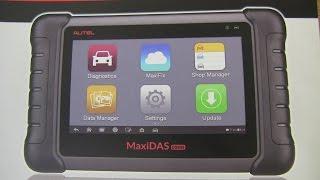 Autel MaxiDas DS808 and Mercedes-Benz