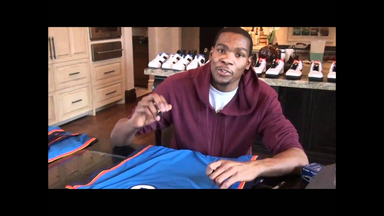 c88485724 Panini America Inks Kevin Durant to Exclusive Contract - YouTube