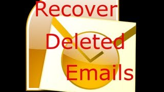 Free way to Recover deleted email ( undelete )  in Microsoft Outlook 2007