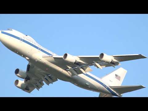 E-4B & C-135s @ Offutt AFB
