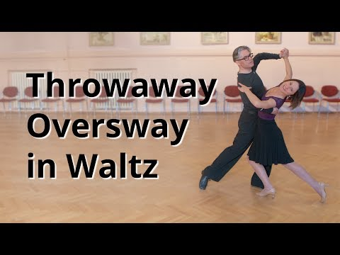 Line Figures - Throwaway Oversway in Waltz | Dance Routine