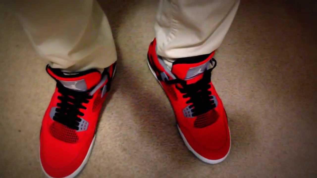 47574028225308 Air Jordan Toro Bravo 4 on feet - YouTube