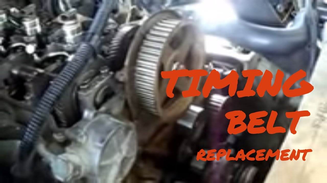 Timing Belt Replacement At Mitsubishi Pajero Youtube 94 Wiring Diagram