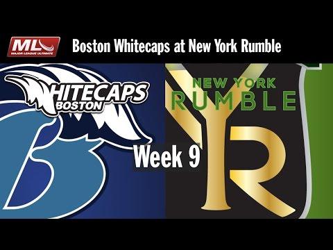 2016 Week 9 - Boston Whitecaps @ New York Rumble