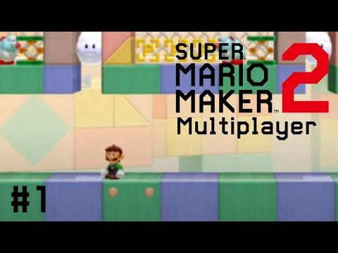 Mario Maker Multiplayer │ The Best Level Name Ever │ #1