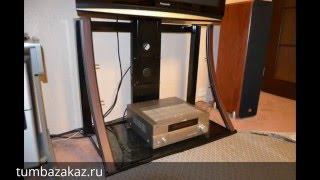 видео Стойка под телевизор Акур Классик с плазмастендом