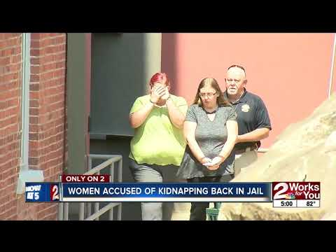 Accused Pittsburg County kidnappers back in jai