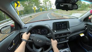 2022 Hyundai Kona POV Test Drive