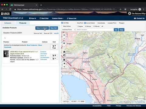 Terraform: generate 3-d models of geographic terrain | Jared