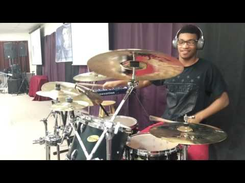 Anthony Brown & Group Therapy- Grateful People (Drum Cover)