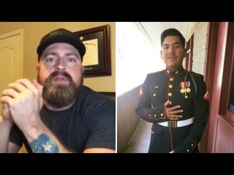 Social media plea to honor Houston Marine killed in crash