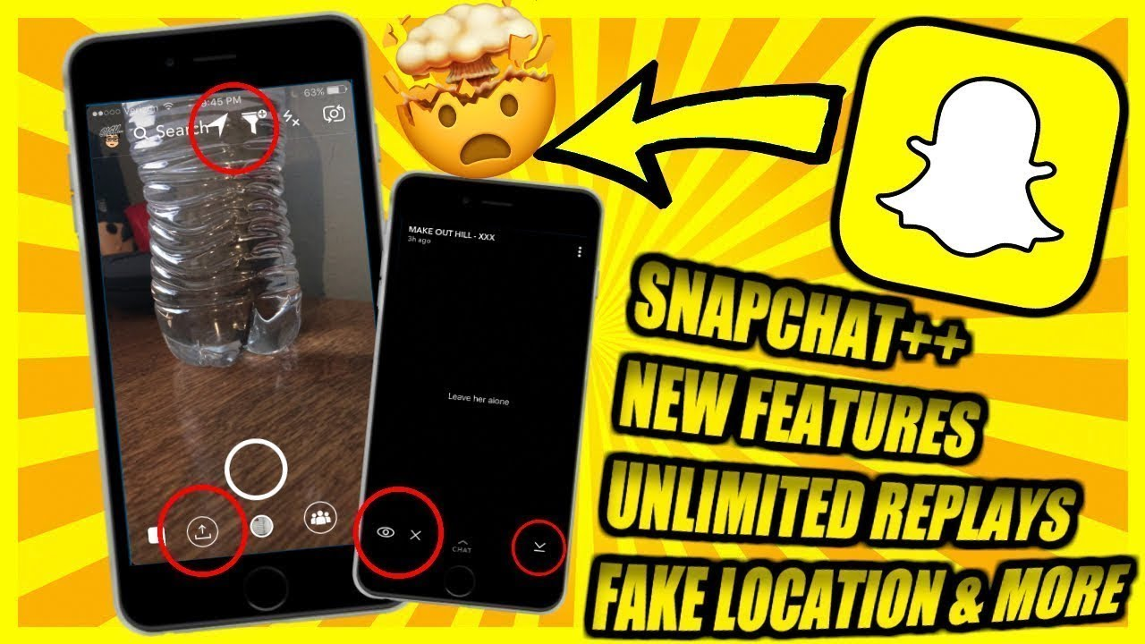 How to get hacked Snapchat and old snapchat UI back on iPhone/iPad iOS 11-  11 2 6 NO JAILBREAK