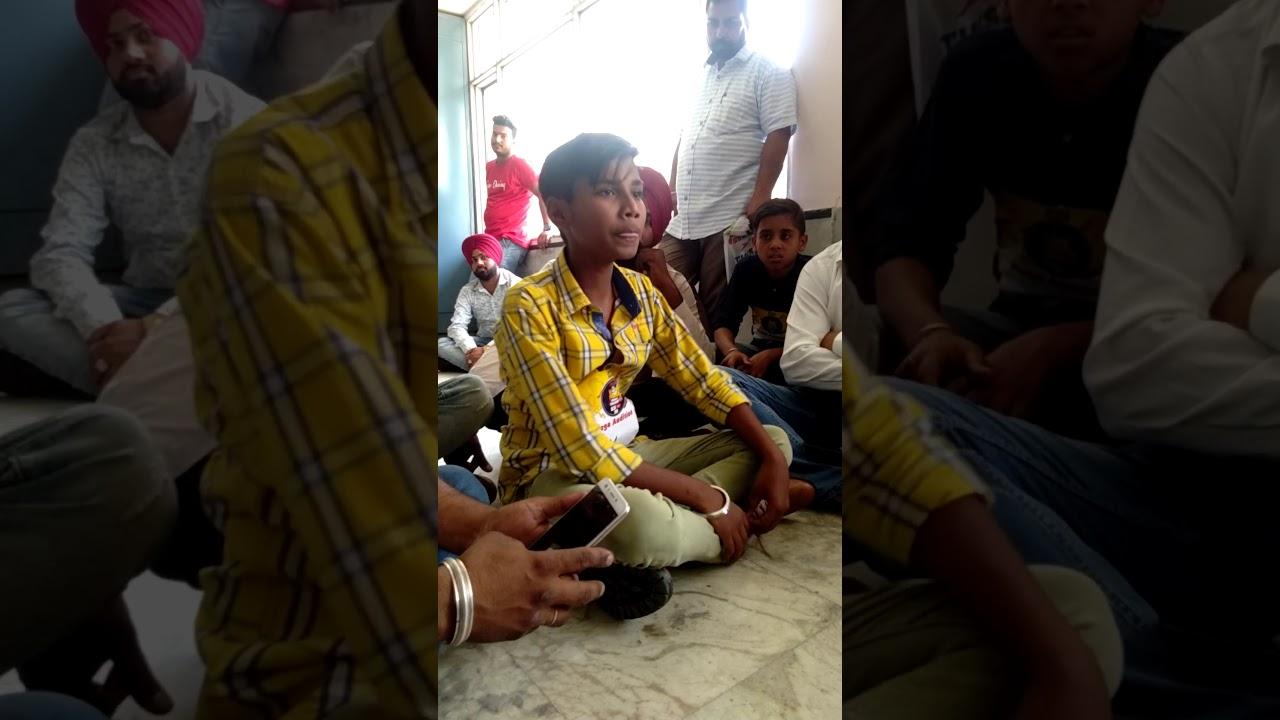 awesome singing telent || harman singh || voice of Punjab chhota champ ||