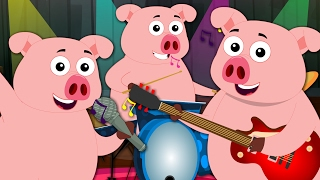 Oink Oink Pig | Original Song Nursery Rhymes | Kids Songs | Baby Rhymes Children Videos | Kids Tv